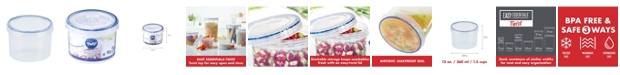 Lock n Lock Easy Essentials Twist 12-Oz. Food Storage Container