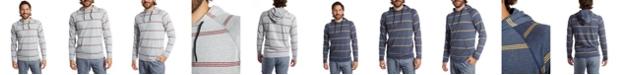 PX Men's Striped T-Shirt Hoodie