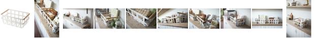 Yamazaki Home Tosca Dual-Handle Storage Basket