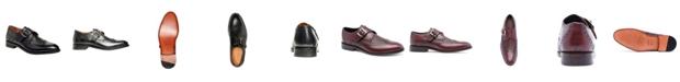 Anthony Veer Men's Roosevelt III Single Monkstrap Wingtip Goodyear Dress Shoes