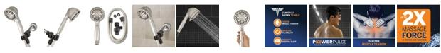 Waterpik XAT-649E 6-Spray Mode Power pulse Hand Held Shower Head