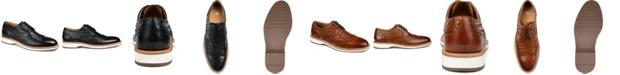 Thomas & Vine Men's Radcliff Woven Wingtip Derby Shoe
