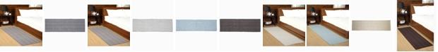 "Home Weavers Woolen Silk Rib 24"" x 72"" Accent Rug"