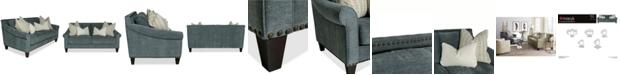 "Furniture Arold 75"" Fabric Apartment Sofa, Created for Macy's"