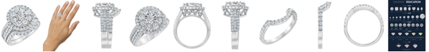 Macy's Diamond Bridal Set (2 1/2 ct. t.w.) in 14K White Gold