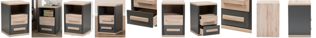 Furniture Pandora Nightstand, Quick Ship