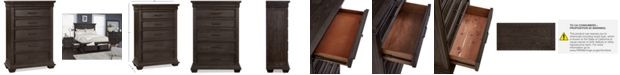 Furniture Hansen 5-Drawer Chest, Created for Macy's