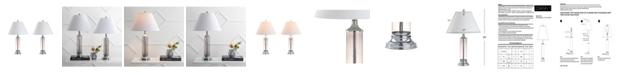 JONATHAN Y Astor Glass LED Table Lamp