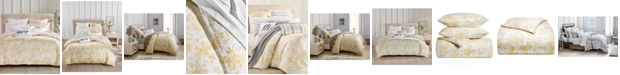 Charter Club Watercolor Leaf 300-Thread Count 3-Pc. King Comforter Set, Created for Macy's