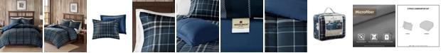 Woolrich Flint Full/Queen 3 Piece CozySpun Down Alternative Comforter Mini Set