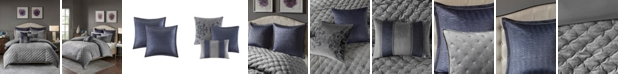 JLA Home Madison Park Signature Sophisticate Queen 8 Piece Velvet Comforter Set