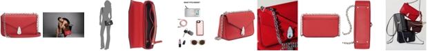 Calvin Klein Lock Leather Shoulder Bag