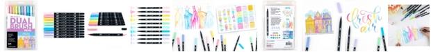 Tombow Dual Brush Pen Art Markers, Pastel, 10-Pack