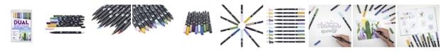 Tombow Dual Brush Pen Art Markers, Desert Flora, 10-Pack