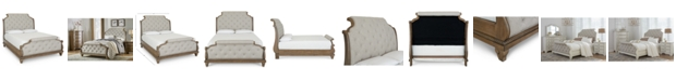 Klaussner Trisha Yearwood Jasper County Upholstered Queen Bed