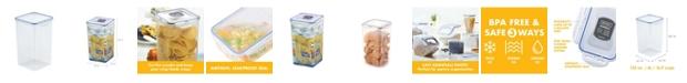 Lock n Lock Easy Essentials Pantry Square 16.9-Cup Food Storage Container