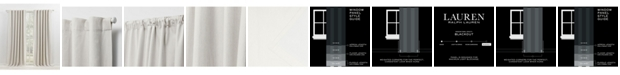 "Lauren Ralph Lauren Sallie Blackout Tab/Rod Pocket Curtain Panel, 54"" x 96"""