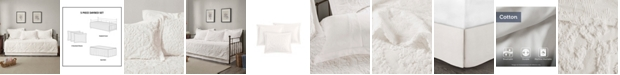 Madison Park Viola 5 Piece Tufted Cotton Chenille Daybed Set