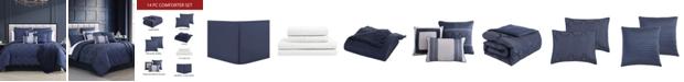 Hallmart Collectibles Danslo 14 PC King Comforter Set