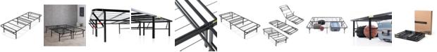 "Sleep Trends Hercules 14"" Platform Metal Bed Frame-  Twin XL"
