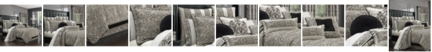 J Queen New York Chancellor 4-Pc. Queen Comforter Set