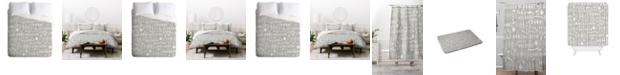 Deny Designs Iveta Abolina White Morning King Duvet Set