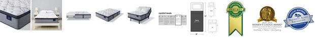 "Serta Perfect Sleeper Trelleburg II 14.75"" Plush Pillow Top Mattress - Twin"