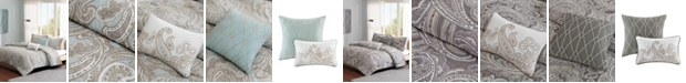 JLA Home Madison Park Pure Ronan Full/Queen 5 Piece Cotton Comforter Set