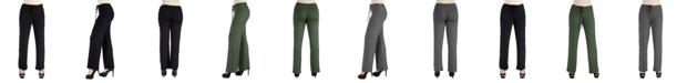 24seven Comfort Apparel Women Comfortable Drawstring Lounge Pants
