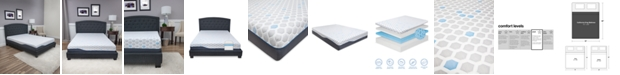 "SensorGel 10"" Plush Mattress- California King, Mattress in a Box"