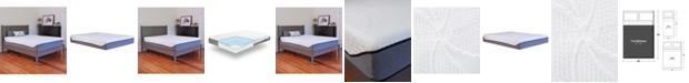 Chic Couture Sleep Trends Sofia Plush Gel Memory Foam 12-Inch Mattress, Quick Ship, Mattress in a Box - Full