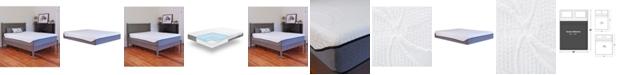 Chic Couture Sleep Trends Sofia Plush Gel Memory Foam 12-Inch Mattress, Quick Ship, Mattress in a Box - Queen