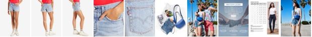 Levi's 501® Cotton High-Rise Denim Shorts