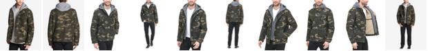 Levi's Men's Sherpa Lined Two Pocket Hooded Trucker Jacket