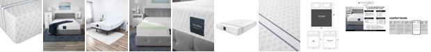 "MacyBed 10"" Plush Memory Foam Mattress , Quick Ship, Mattress in a Box - King"
