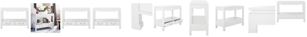 Safavieh Corbell 2-Drawer Lacquer Console Table