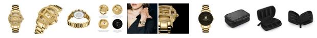Jbw 10 YR Anniversary Women's Olympia Diamond (1/5 ct.t.w.) 18K Gold Plated  Watch