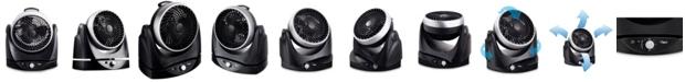 """Ozeri Brezza II Dual Oscillating 10"""" High Velocity Desk Fan"""