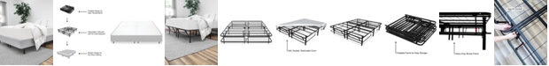 SensorGel 1Base All-in-One Box Spring & Frame, Quick Ship
