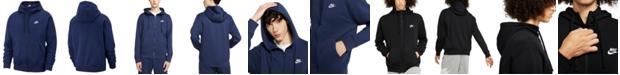 Nike Men's Club Fleece Zip Hoodie