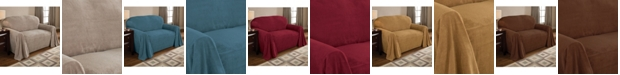 P/Kaufmann Home Coral Fleece Throw Sofa Slipcover