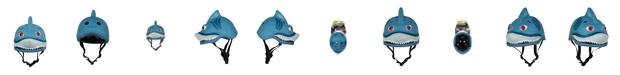 SAKAR CredHedz Shark Helmet