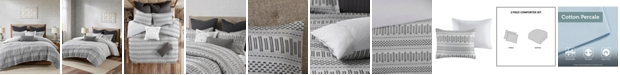 INK+IVY Rhea 3 Piece Comforter Mini Set, Full/Queen