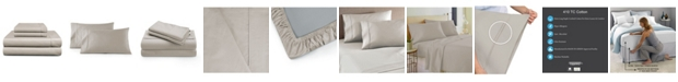 Fisher West New York Cooling Planet Anti-Microbial 410 Thread Count 4-Piece Sheet Set, Queen