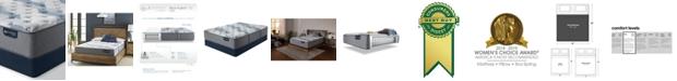 "Serta iComfort by Blue Fusion 100 12"" Hybrid Firm Mattress Set - King"