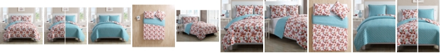VCNY Home Sea Life Reversible 3-Pc. King Quilt Set