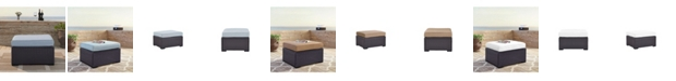 Crosley Biscayne Ottoman With Cushions