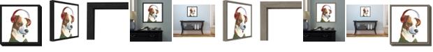 Amanti Art The Boys V Dog by Myles Sullivan Canvas Framed Art