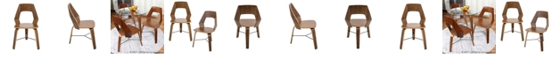 Lumisource Trilogy Dining Chairs Set of 2