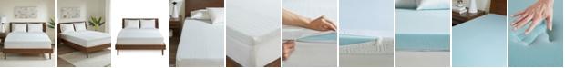 """Sleep Philosophy Flexapedic by  2"""" Queen Memory Foam Mattress Topper, 3M Moisture-Management"""